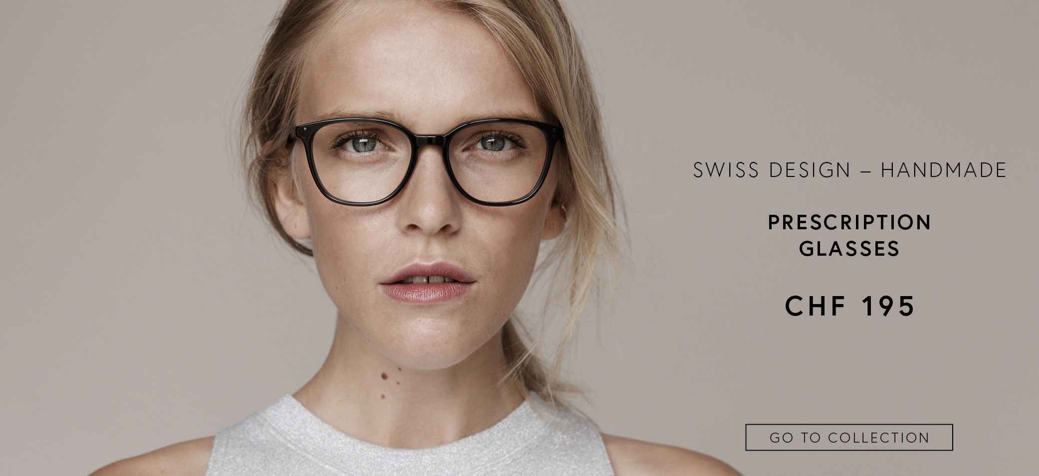 Prescription glasses CHF 195